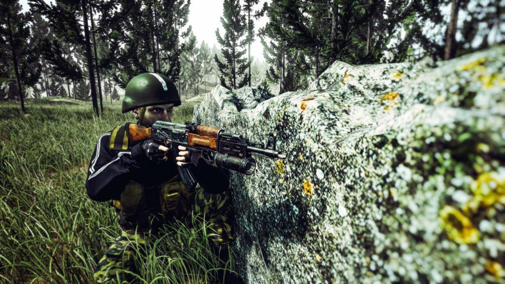 Grenadier der Miliz Franktion